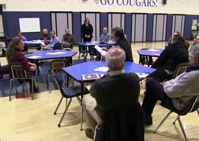 ACT 46 Public Forum: Waterville Elementary School 2015