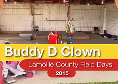 Lamoille County Field Days: Buddy D Clown