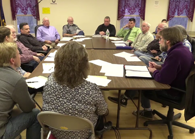 Johnson Selectboard/Village Trustee Joint Meeting 4/13/16