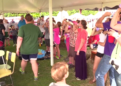 Lamoille County Field Days 2015, Baby Bottle Contest
