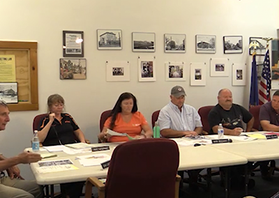 Morristown Selectboard – 7/5/16, Part 1