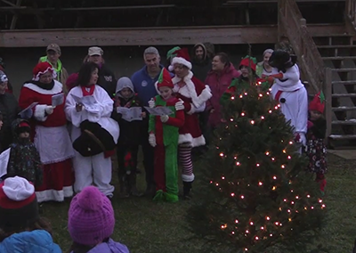 17th Annual Festival of Lights, Tree Lighting