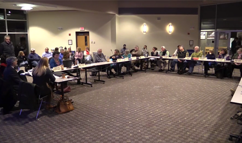 Lamoille North Modified Unified Union School District Board Meeting, 12/19/16