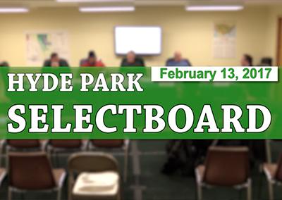 Hyde Park Selectboard, 2/13/16