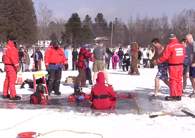 Lake Elmore Polar Splash, 2016