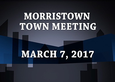 Morristown Town Meeting, 2017