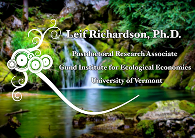 Environmental Health Speaker Series, Leif Richardson, Ph.D.
