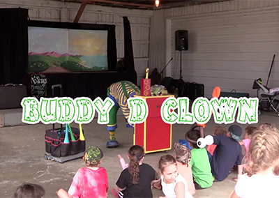 Lamoille County Field Days, 2016 – Buddy D Clown