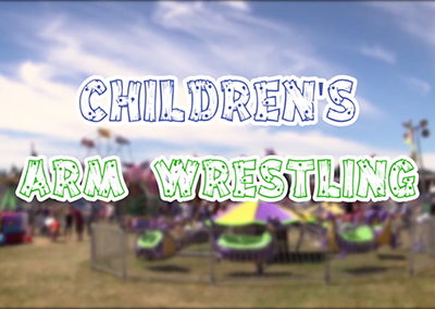 Lamoille County Field Days, 2016 – Children Arm Wrestling