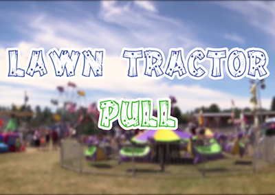 Field Days, 2016 – Lawn Tractor Pull
