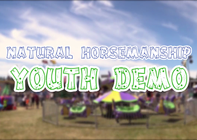 Field Days, 2016 – Natural Horsemanship Youth Demo