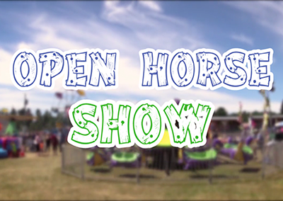 Lamoille County Field Days, 2016, Open Horse Show