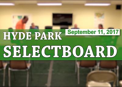 Hyde Park Selectboard, 9/11/17