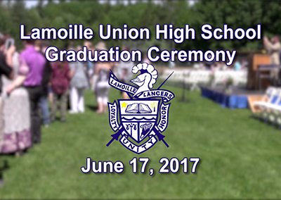 Lamoille Union High School Graduation, 2017