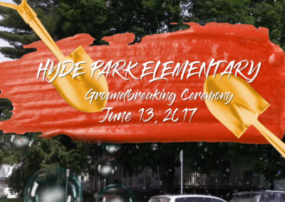 Hyde Park Elementary School Groundbreaking Ceremony, 6/13/17
