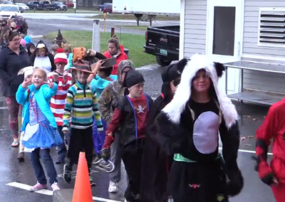 Hyde Park Elementary Ghost Walk, 2017
