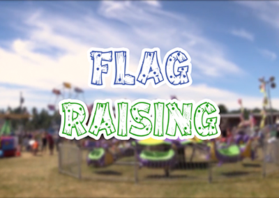 Field Days, 2017 – Flag Raising