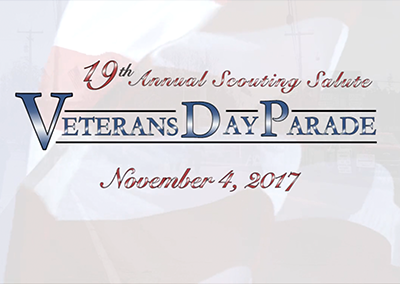 Veterans Day Parade – 19th Annual Scouting Salute, 11/4/17