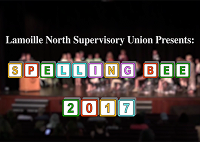 Lamoille North Supervisory Union Spelling Bee, 2017