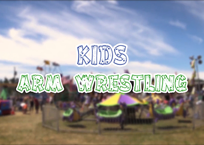 Field Days, 2017 – Kids Arm Wrestling