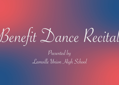 Lamoille Union High School – Benefit Dance Recital, 2017