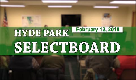 Hyde Park Selectboard, 2/12/18