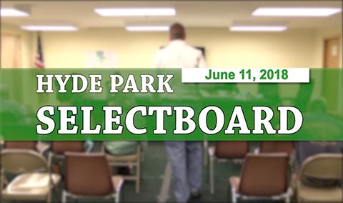 Hyde Park Selectboard, 6/11/18