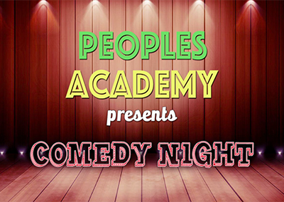 People Academy Presents Comedy Night, 2018