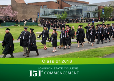 Johnson State College Commencement, 2018