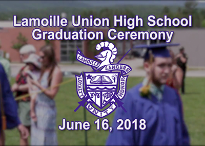 Lamoille Union High School Graduation, 2018