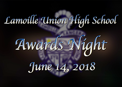 Lamoille Union High School Senior Awards Night, 2018