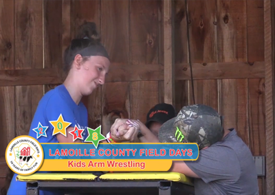 Field Days, 2018 – Kids Arm Wrestling