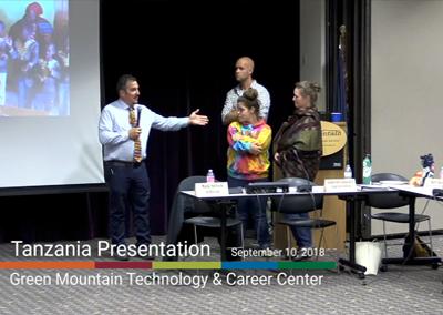 GMTCC Tanzania Presentation, 9/10/18