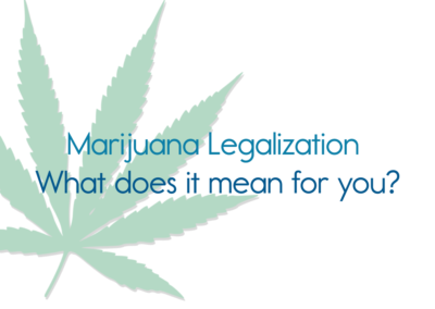 Healthy Lamoille Valley, Marijuana Legalization