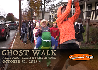 Hyde Park Elementary Ghost Walk, 2018