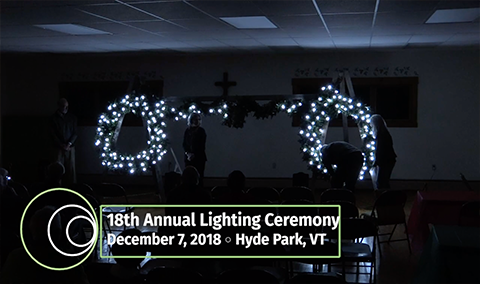 Hyde Park Community Circle, 2018 – Lighting Ceremony