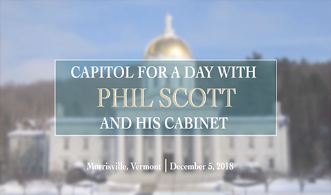 Capital for a Day with Gov Phil Scott