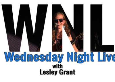Wednesday Night Live, 2018 – Lesley Grant