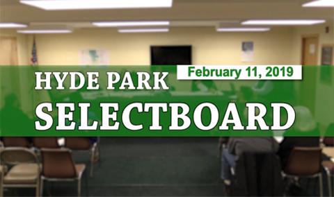 Hyde Park Selectboard 2/11/19