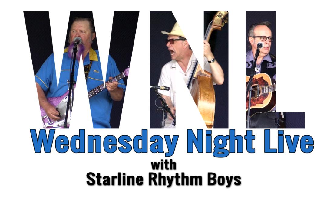 Wednesday Night Live, 2018 – Starline Rhythm Boys