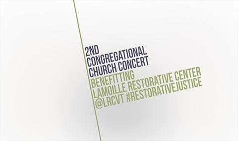 Second Congregational Church Lamoille Restorative Center Benefit, 10/19/18