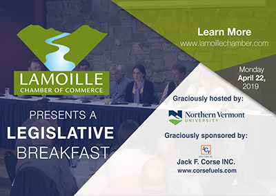 March Legislative Breakfast, 4/22/19