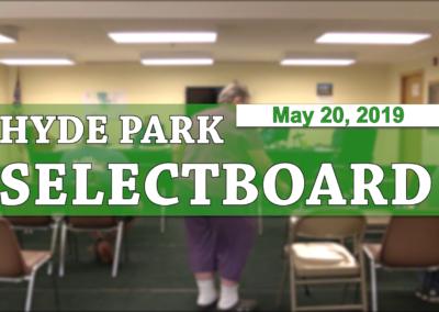 Hyde Park Selectboard, 5/20/19