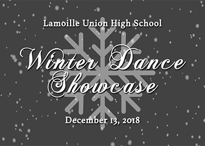 Lamoille Union High School Dance, Winter 2018