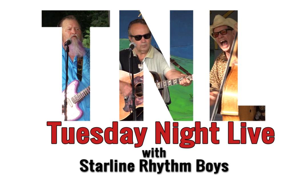 Tuesday Night Live, 2018 -Starline Rhythm Boys