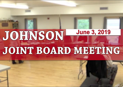Johnson Jointboard Meeting, 6/3/19