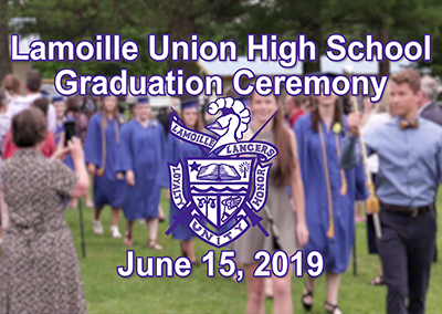Lamoille Union High School Graduation, 2019