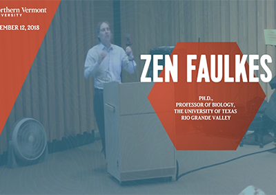 Current Topics in Science Series, Zen Faulkes