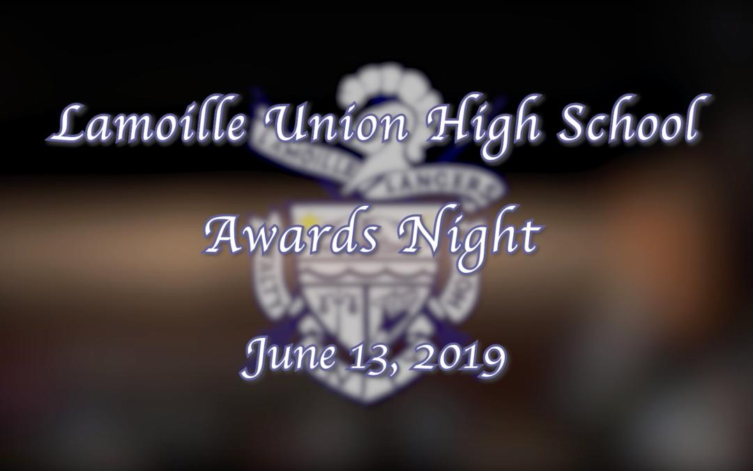 Lamoille Union High School Awards Night, 2019