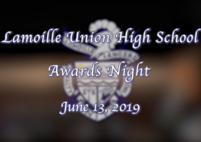 Lamoille Union High School Awards Night, 2019